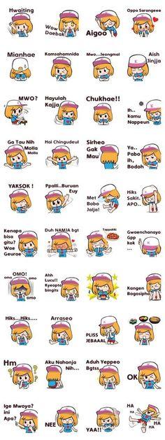I am a kpop lover and from Indonesia! Korean Verbs, Korean Phrases, Korean Words Learning, Korean Language Learning, Learn To Speak Korean, Korea Quotes, Learn Korean Alphabet, Learn Japan, Korean Expressions