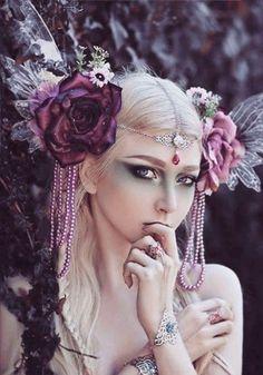 67 Trendy Ideas For Fashion Photography Fantasy Headpieces Fantasy Photography, Fashion Photography, Hair Photography, Photography Flowers, Colour Photography, Photography Reflector, Photography Degree, Photography Lighting, Photography Classes