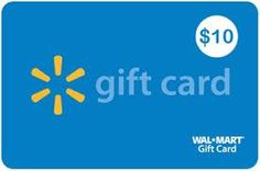 $10 walmart gift card. 2 winners! Flash Giveaway 11/15 Only.