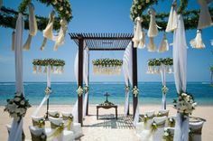 Bali Beach Wedding Ldecoration