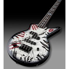 Dean Electric Guitars-Acoustic Guitars-Bass Guitars ❤ liked on Polyvore featuring guitars, instruments, music, accessories and band