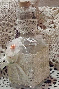 Shabby Chic, Cottage products. Flower twig lights. Altered candles, books, bottles. all natural soaps, body scrubs, french clay facial and body mask, and candles, Palm Wax, Caffeine for your skin, Aloe Vera. Sewing and crochet