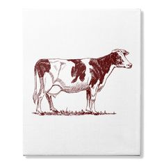 Go Vegetarian. Youth Of Today, Happy Cow, Cow Canvas, Going Vegetarian, Cowgirl Jewelry, Crazy People, Moose Art, Animals, Ebay