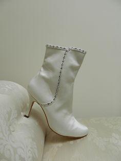 Benjamin Adams Ryder crystal wedding boots
