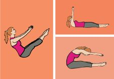 The 10-Minute Core-Blasting Pilates Workout [INFOGRAPHIC]