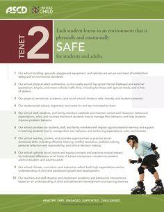 Whole Child Indicators for Safe