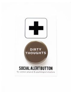 Dirty Thoughts Valentine's Social Alert button