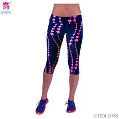 134578e6359c1 Women Leggings Capris Fitness, Elastic Slim. Cheap Leggings, Leggings Sale, Women's  Sports