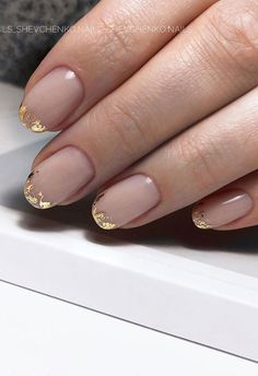Chic Nails, Stylish Nails, Short Nail Designs, Simple Designs, Gold Nail Designs, Nail Design For Short Nails, Best Nail Designs, Line Nail Designs, Neutral Nail Designs