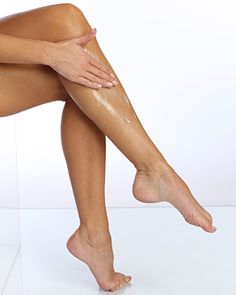 Skin care tip: Apply moisturizer to your legs immediately after showering for maximum softness.