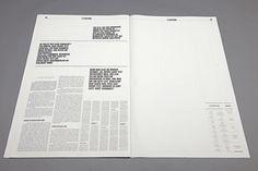 Überzeitung – Eine Liebeserklärung by Wolfgang Landauer, via Behance. #print newspaper