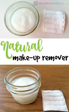 Try this natural & organic product to remove your make-up. The best part is that it leaves your skin feeling smooth and soft. #makeupremover #organic #coconutoil #DIY #makeup #nontoxic
