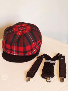 Fore! Axel /& Boys Madres Plaid Newsboy