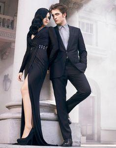 twilight aside, i just like this couple. Robert Pattinson and Kristen Stewart Kristen And Robert, Robert Pattinson And Kristen, Mtv, Couple Photography, Fashion Photography, Costume Africain, Twilight Wedding, Nikki Reed, Glamour