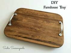 Add Handles To Any Of Our Boards For An Easy DIY Serving Tray