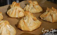 Пирожки из теста фило с рисом и грибами | Кулинарные рецепты от «Едим дома!»