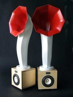 little horn speakers