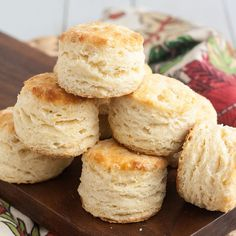 Foolproof Flaky Buttermilk Biscuits  http://www.traceysculinaryadventures.com/2013/03/foolproof-flaky-buttermilk-biscuits.html#.Um8DgJRgaQM