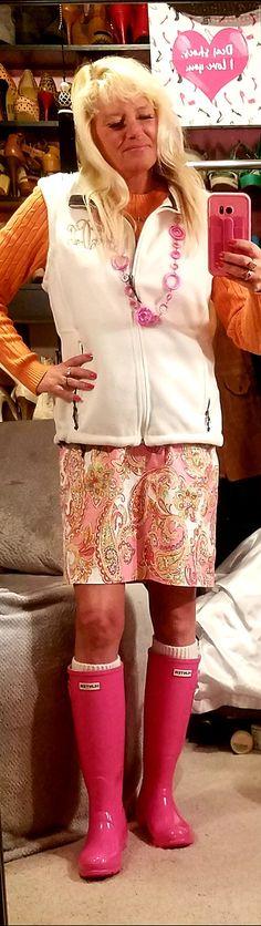 Pink Hunter Boots, Lace Skirt, Skirts, Style, Fashion, Swag, Moda, Fashion Styles, Skirt