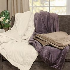 OLLIIX - Elegance Plush Throw 50x60
