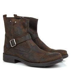 Black Boots - Bota Black Boots Bm02 Chocolate - BlackBoots