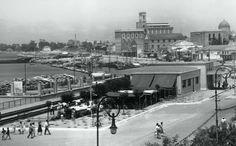 ΠΑΤΡΑ - 1958 - Ο ΣΤΑΘΜΟΣ ΤΟΥ ΟΣΕ Patras, Yesterday And Today, Old Photos, Greece, Louvre, Memories, History, Building, Travel