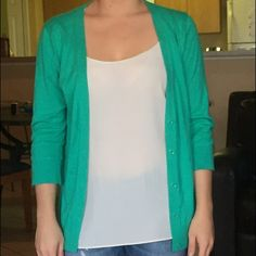 Teal comfy cardigan This is a teal comfy cardigan that goes with so many colors and perfect for spring and summer! Goes with any tank underneath! GAP Sweaters Cardigans