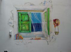 Mural Acrílico sobre pared #artonbcn #artecontemporaneo #artebenarcelona #pintura