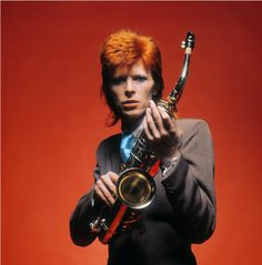 David Bowie - Pin Ups session, 1973.