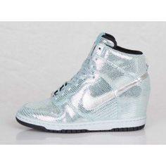 gants Nike personnalisé - Nike Dunk Sky High (Haute) Baskets Compens��es Femme Code de Style ...