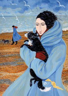 'After The Rain' By Painter Dee Nickerson. Blank Art cards By Green Pebble. www.greenpebble.co.uk