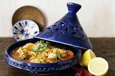 Arabic Food Recipes: Chermoula fish tagine recipe