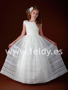 Vestido Comunión niña Marla 2012 B256 | Feldy S.A.
