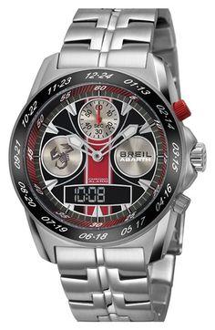 Men's Breil 'Abarth' Chronograph Watch