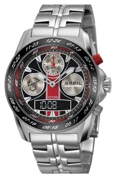 Men's Breil 'Abarth' Chronograph Watch