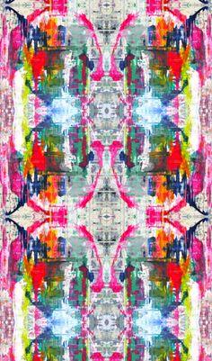 Image of 8241 pink wallpaper Her Wallpaper, Graphic Wallpaper, Fabric Wallpaper, Pattern Wallpaper, Iphone Wallpaper, Textures Patterns, Print Patterns, Rorschach Art, Collage Kunst