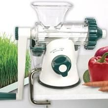 Lexen Healthy Juicer Easy Health Manual Wheatgrass Juicer - Lexen Manual Juicer  also known as the Easy Health Manual Wheatgrass Juicer, is a great value, super light  compact manual juicer recommend for juicing wheatgrass, sprouts, herbs and leafy greens.  It makes an ideal travel juicer weighting less than 1kg.   It works by crushing the fibre to extract the juice, effectively cold pressing the produce to preserve the natural flavour and nutrients.  The Lexen Manual Juicer is remarkably…