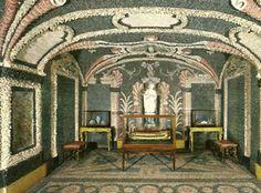 Shell Grotto in the Palazzo Borromeo, Isola Bella, Lago Maggiore