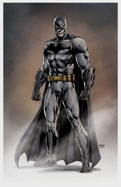 Batfleck Comic Accurate