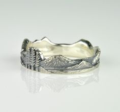 Cascades Mountain Ring Version 2.0  http://www.rhoadsjewelry.com/online-store/cascades-mountain-ring