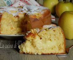 Torta di mele e crema ricetta golosa