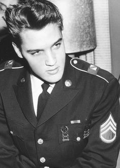 Elvis Presley....Could have put him under numerous boards.....but this fits them all....good looking man!