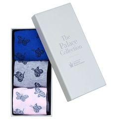 Purple Lottie Butterfly Sock Set | Socks | Accessories | Hobbs