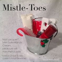 Mistle-Toes $14 this can be made to fit all occasions www.marykay.com/wilkersontm text or call 717.825.6684