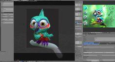 Creating a Bird in Blender