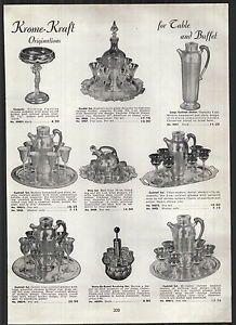 1951 Ad Krome Kraft Cordial Cocktail Shaker Sets   eBay