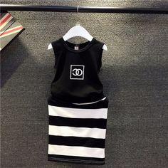 Black n' White Clothing Set