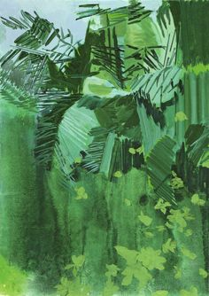 Hurvin Anderson, Phosphorescent, 2013. Acrylic and oil on canvas, 70 x 50 cm