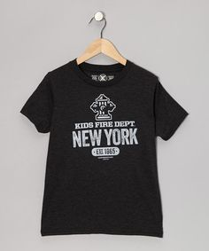 Take a look at this Smoke New York Tee - Toddler & Kids by Kids Fire Dept. on #zulily today! #nyc #newyork #firefighter