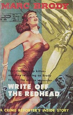 Image result for write off the redhead  pulp cover